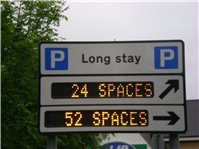 Long Stay Car Park Sign