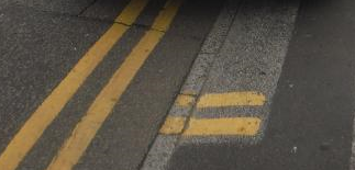 Double yellow lines and double kerb markings